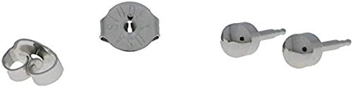 Erstohrstecker Chirurgenstahl Sterile Ohrstecker Knopfform 4mm