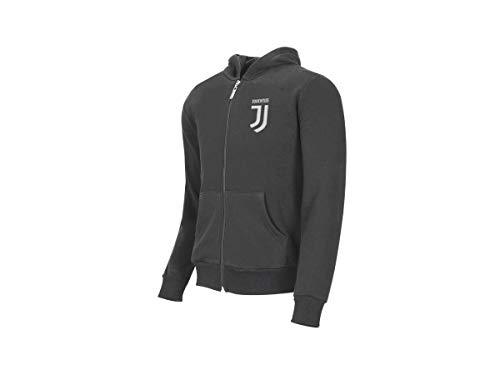 MIGLIARDI F.C. Juventus Felpa Ufficiale con Cappuccio Full Zip (300 gr) - Bambino/Ragazzo Varie Taglie Disponibili (Anni 6-8-10-12-14-16) (10 Anni)