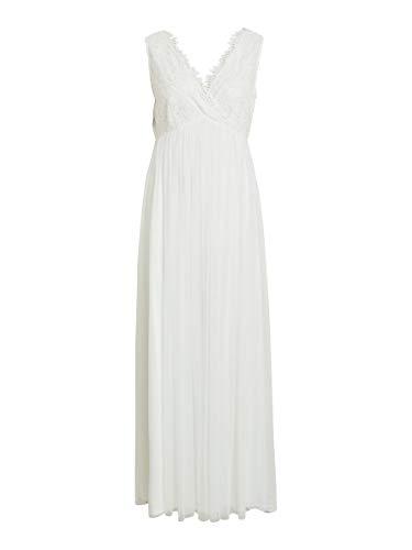 Vila Damen Abendkleid Urlicana weiß40