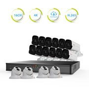 Revo Ultra HD 16 Ch. 4TB NVR Best Security System with 16 4MP Security Cameras