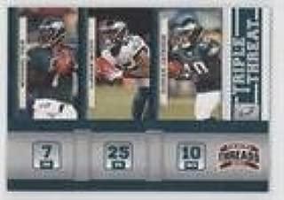 LeSean McCoy; Michael Vick; DeSean Jackson (Football Card) 2011 Panini Threads - Triple Threat #4