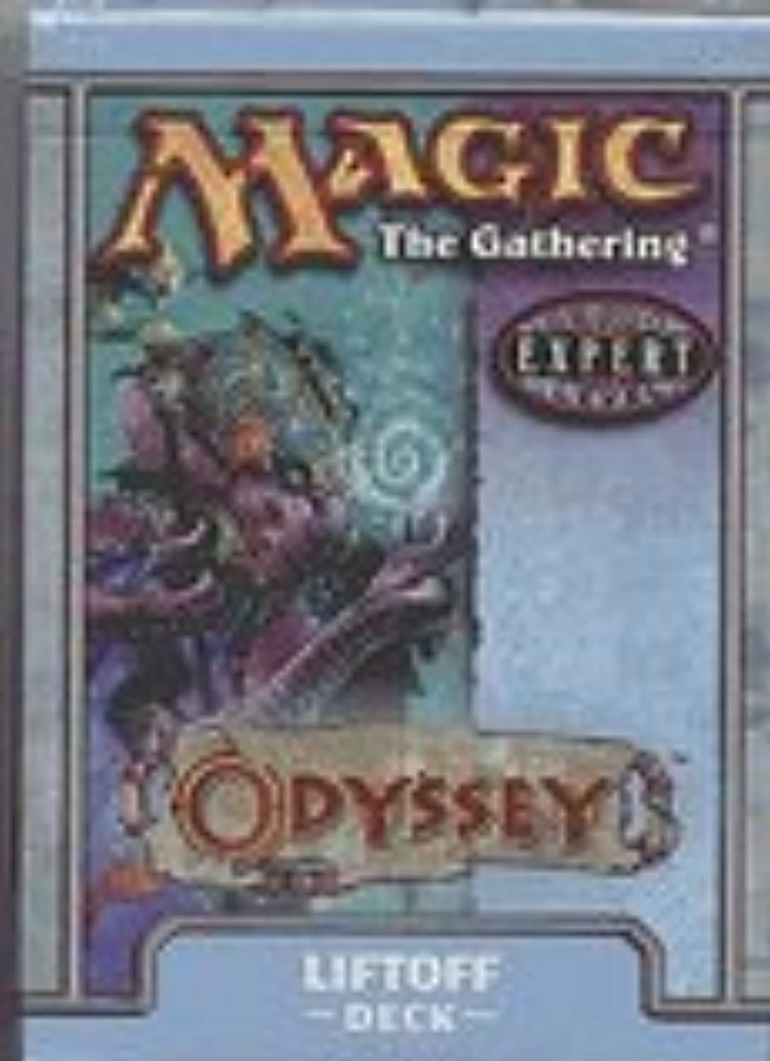 Magic the Gathering Card Game  Odyssey Theme Deck Liftoff  60c