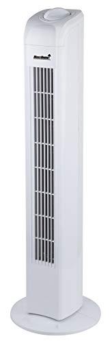 MaxxHome Ventilatore a torre FT-75, altezza 80 cm, colore bianco
