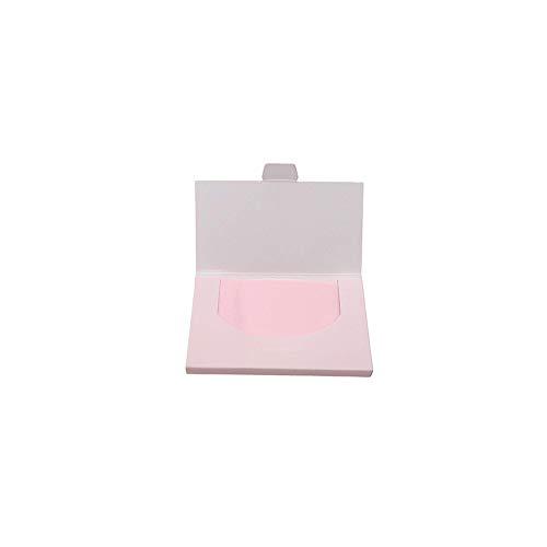 1box () 50pcs Papier Buvard Boîte Rose Huile De Remplacement Absorbing Feuilles Buvard Tissues Face Portable Pour Les Hommes Et Les Femmes
