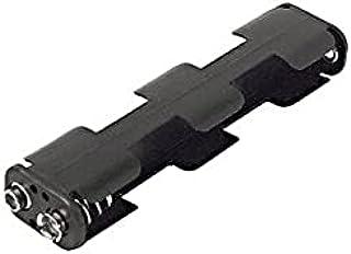 34EA Um3x4 Aa Battery Holder Holds 4X Batteries Lengthwise,