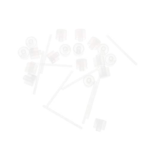 Minkissy 25 Pcs Têtes de Flacon Pulvérisateur Tête de Pompe de Remplacement pour Brume Fine Maquillage Vaporisateur Flacon Diffuseur de Parfum Bouteilles