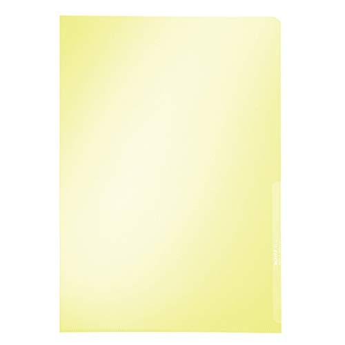 Leitz 41000015 - Dossiers uñero, amarillo, 100 unidades