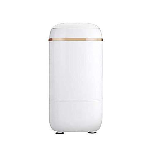 JJLL Mini Lavadora for los niños del bebé pequeño bebé Solo Cubo de Hogares de Gran Capacidad semiautomático de Drenaje extraíble Cesta Mini Lavadora portátil