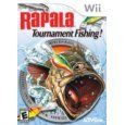WII Video Game Rapala Tournament Fishing+Fishing Pole for Nintendo Wii (Wiimote & Wii Nunchuk are sold seperately)