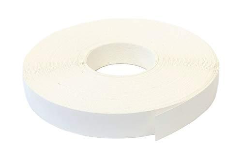Kantenumleimer Melamin 22mm x 10m mit Schmelzkleber in weiss glatt matt Dekor
