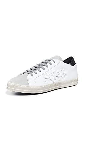 P448   COJOHN1   Sneaker - weiß   White Black, Farbe:weiß, Größe:41