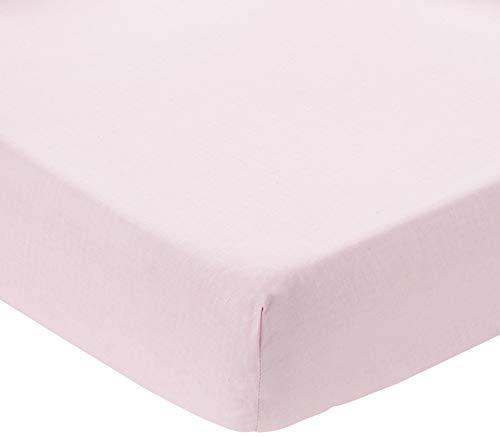 ComfortBaby 00010060-78 Spannbettlaken Beistellbett Plus, rosa