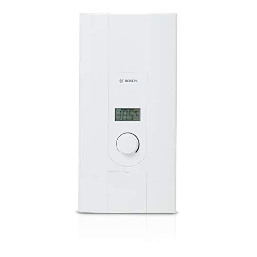 Bosch elektronischer Durchlauferhitzer Tronic 7000, 15/18 kW, Übertischgerät, druckfest mit 2-in-1 Leistungsumschaltung, LCD-Anzeige