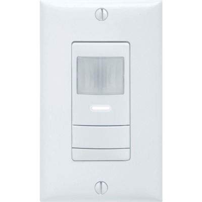 Lithonia WSX PDT WH Wall Switch Decorator Sensor - Dual Technology (Pdt): White
