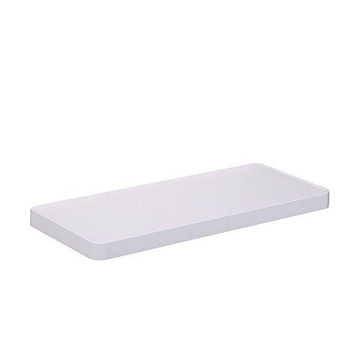 crw? Diseño moderno pared montada baño agua/prueba de polvo cubierta de tejido baño estante rodillo de papel higiénico/Tissue Holder 3en 1Toalla de baño estante tejido titular con gancho para colgar F31011WH