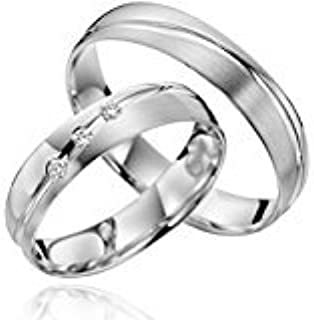 2x Rings In 925Silver With Engraving and Stone