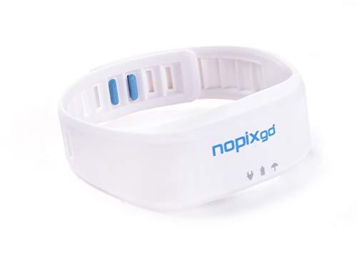 nopixgo Hi Tech Mückenschutz-Armband, entwickelt & hergestellt in der Schweiz, elektronischer Mückenschutz als Anti Mückenarmband - ohne Chemie