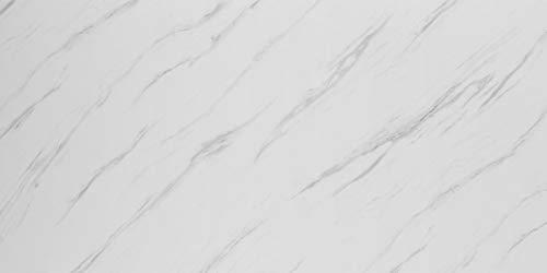 Deko Wandverkleidung in Marmor- und Granitoptik für Küche, Wohnzimmer, Wintergarten und Büroräume (Ice Berg Grey)