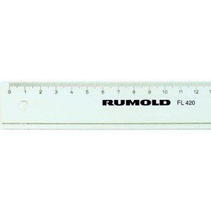 Rumold Lineal 50cm Kunststoff transparent