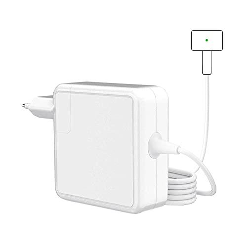 Cargador de 45W Compatible con Mac Book Air, Adaptador de Corriente de Repuesto, Cargador Magnético 2 T-Tip para Mac Book Air de 11' y 13' Después de Mediados de 2012, Modelos A1436 A1465 A1466