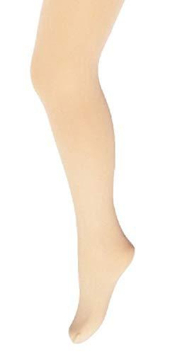 Gajatex-Prim Mädchen Strumpfhose Kinderstrumpfhose Feinstrumpfhose Babystrumpfhosen 40 DEN Microfaser Balet u. Tanz (128/134 Nr.13, Creme/ivory)