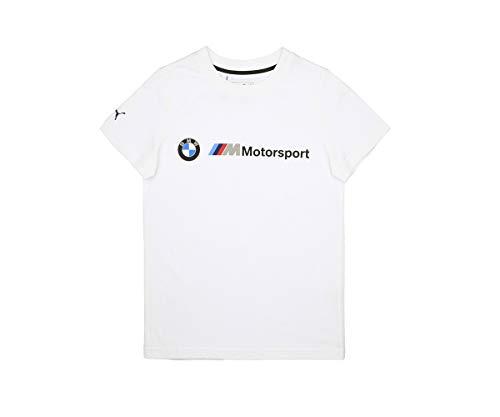 PUMA BMW M Motorsport Logo Kinder T-Shirt Puma White 140