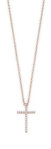 Esprit Damenkette mit Kreuz-Anhänger ESNL92769B420 50120