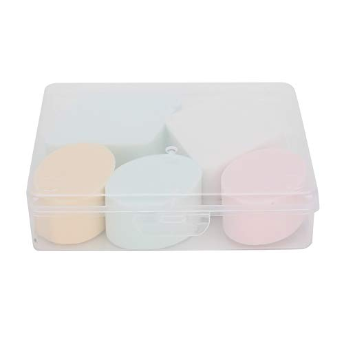Makeup Beauty Egg Wet Dry Dua Oval Rhombus with Box Beauty Sponge for Face and Neck
