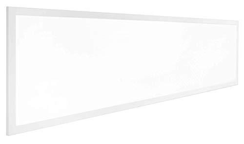 Lumira LED Panel 120x30 cm, 50W, Warmweiß, Deckenleuchte, flach, Blendfrei inkl. Trafo