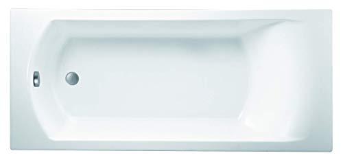 Jacob Delafon E60144-00 Ove Baignoire rectangulaire, Blanc, 170 x 70 cm