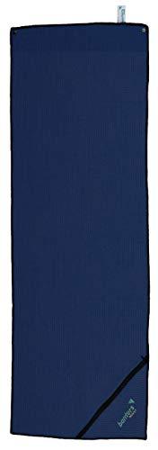 Banters Sporthandtuch für Workout und Kraft-Training im Fitnessstudio (Blau)
