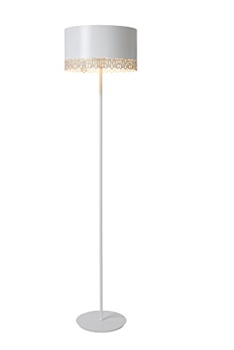 Lucide FEROVA - Lampadaire - Ø 39,5 cm - Blanc
