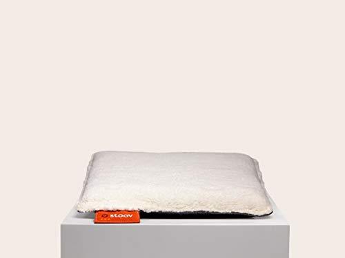 Stoov One | Woolly beheiztes Sitzkissen Woolly White