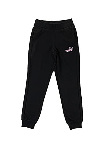 PUMA Sweat Pants TR G Pantaloni, Nero, 14 Anni Unisex-Bimbi