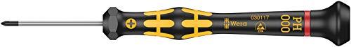 Wera 05030117001 1550 Destornillador Phillips Kraftform Micro, PH 000 x 40 mm