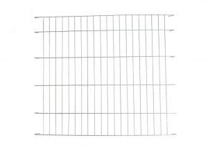 Ellie-Bo Silver Divider for 42 inch Extra Large Dog Crate Cag