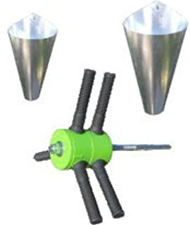 Power Plucker Feather Remover + MEDIUM Restraining Cone + LARGE Restraining Cone Chicken Poultry Processing