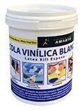 Cola Vinilica - Cola Blanca al uso, para el pegado de piezas, manualidades y papel pintado.