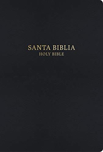 RVR 1960/KJV Biblia Bilingüe Letra Grande, negro imitación piel (Spanish Edition)
