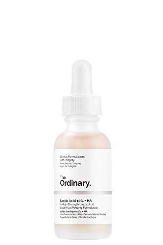 The Ordinary - Ácido láctico 10% + AH 30 ml, una fórmula de peeling superficial de ácido láctico de alta resistencia
