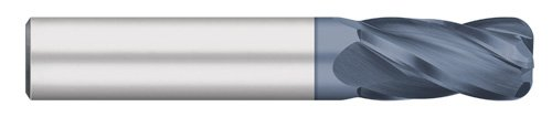 1-1//2 Cutting Length 30 degree Helix 1//4 Cutting Diameter Extra Long Length 4 Flute 0.020 Corner Radius Titan TC74613 Solid Carbide End Mill Corner Radius 6 Overall Length AlTiN Coated