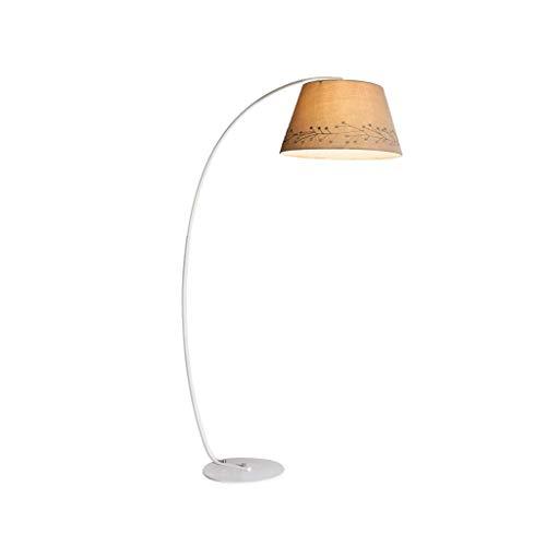 Vloerlamp is eenvoudig en modern, eenvoudig hoog trommel zonnescherm verticale lamp te installeren, woonkamer slaapkamer hengel lamp leven R/19/12/16