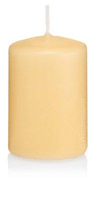 Korting in voordeelverpakking stompkaarsen champagne 60 x 120 mm 16 stuks