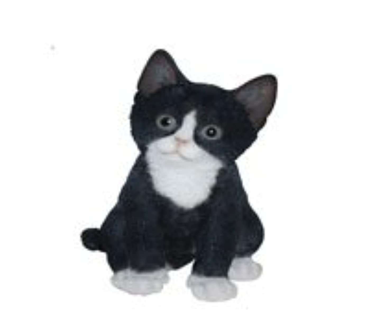 Border Concepts Nature's Gallery Pet Pals Statue (Black and White Kitten)