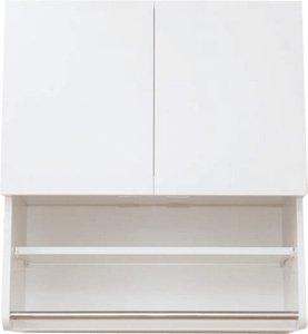 アイオ産業 洗濯機上吊り戸棚 【KMS-800】800mm幅の写真
