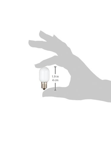 ELPAエルパLED常夜灯ナツメ球口金直径12mm2個入LDT1YR-G-E12-G10012P