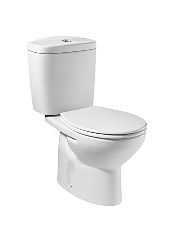 Pack WC Victoria Silencio - Roca - Abattant frein de chute - Sortie horizontale