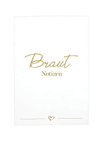 Planer für die Braut blanco Notizen Gedanken Hochzeitsplanung Geschenk Hochzeit