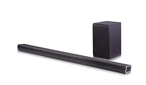 LG Electronics SH7B 4.1 Channel 360W Sound Bar with Wireless Subwoofer - Black