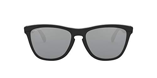 Oakley Frogskins Mix Gafas, Schwarz, 55 para Hombre